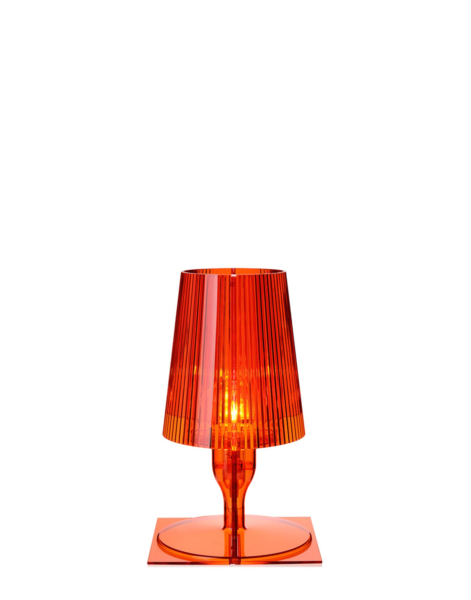 Kartell Lamp Kartell Table Lamp Take Orange Newformsdesign Table