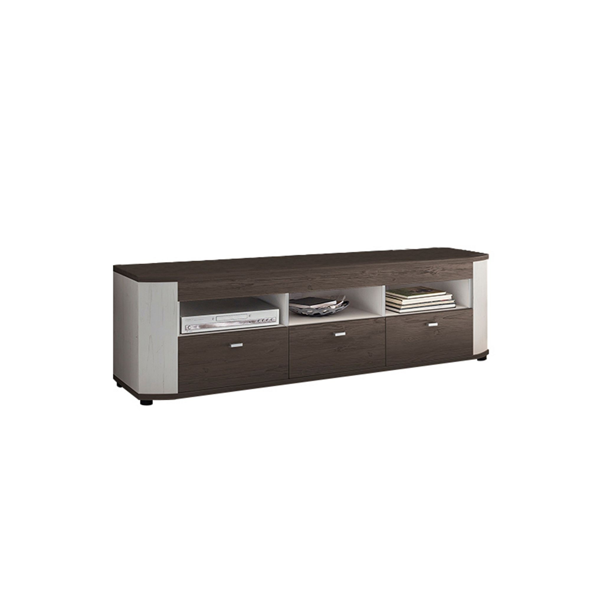 Tv Sideboard Kiefer Thies Seven Tv Lowboard Anderson Kiefer Weiß Riviera Eiche