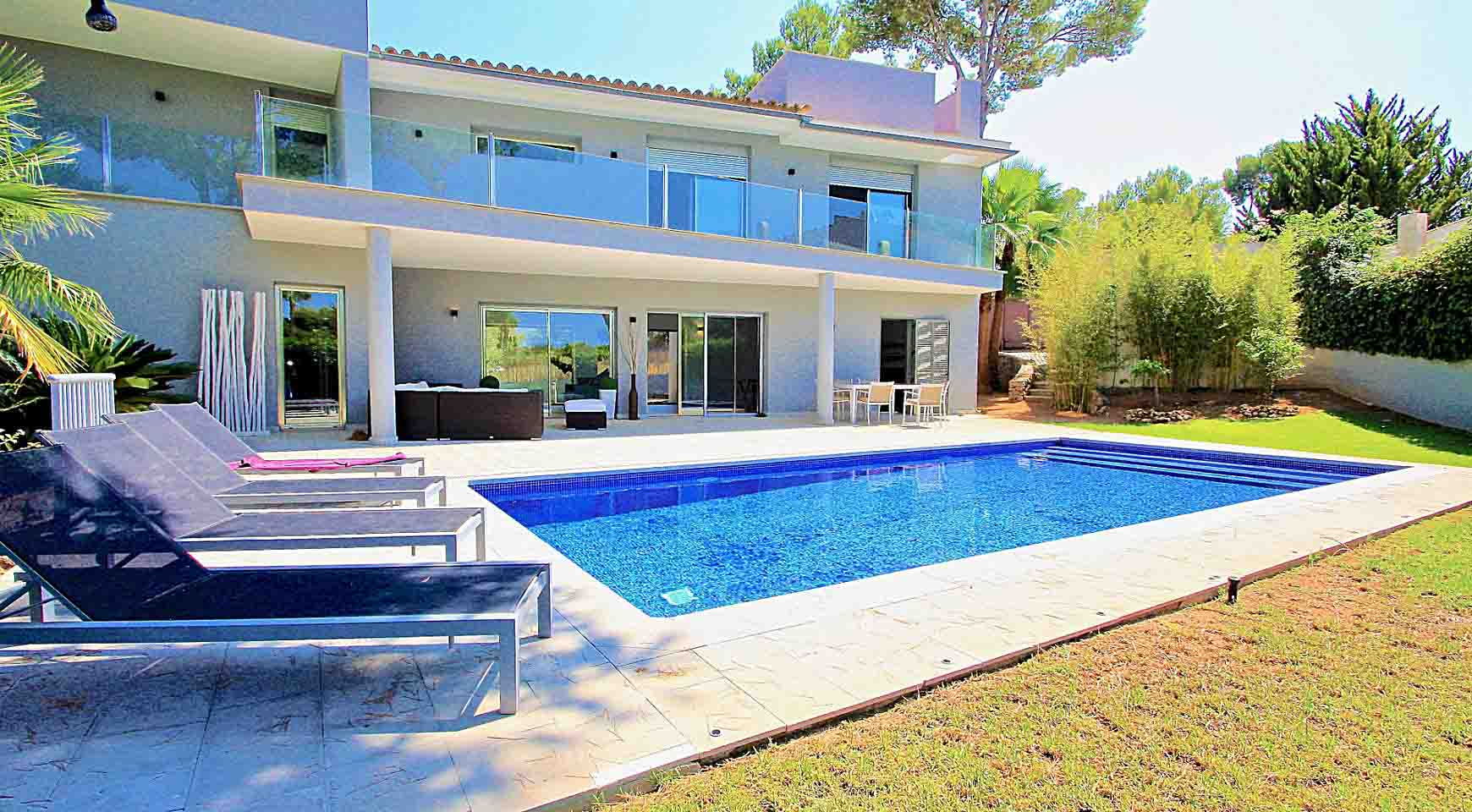 Pool Kaufen Real Spacious 5 Bedroom Villa Nova Santa Ponsa New Home Mallorca