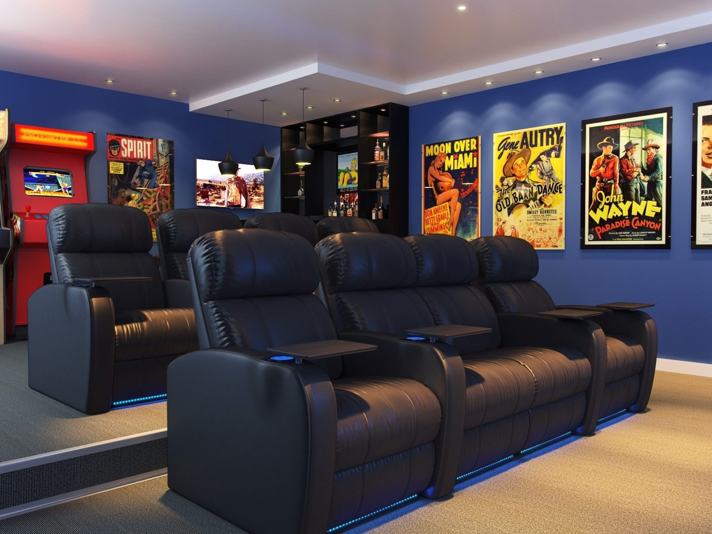 Theatre Room Furniture Avoid These 5 Mistakes In Your Home Theater New Homes