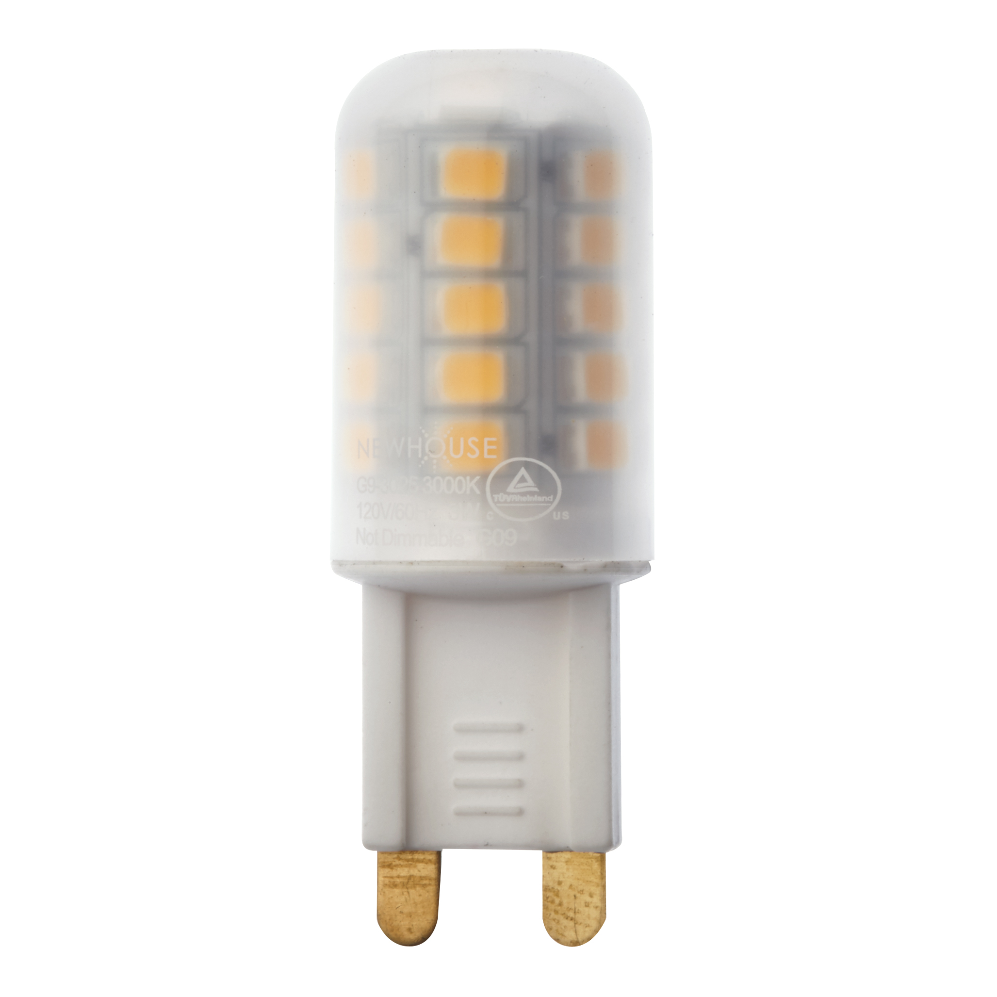 Led Halogen 3w 25w Equivalent G9 3025 G9 Led Bulb Newhouse Lighting