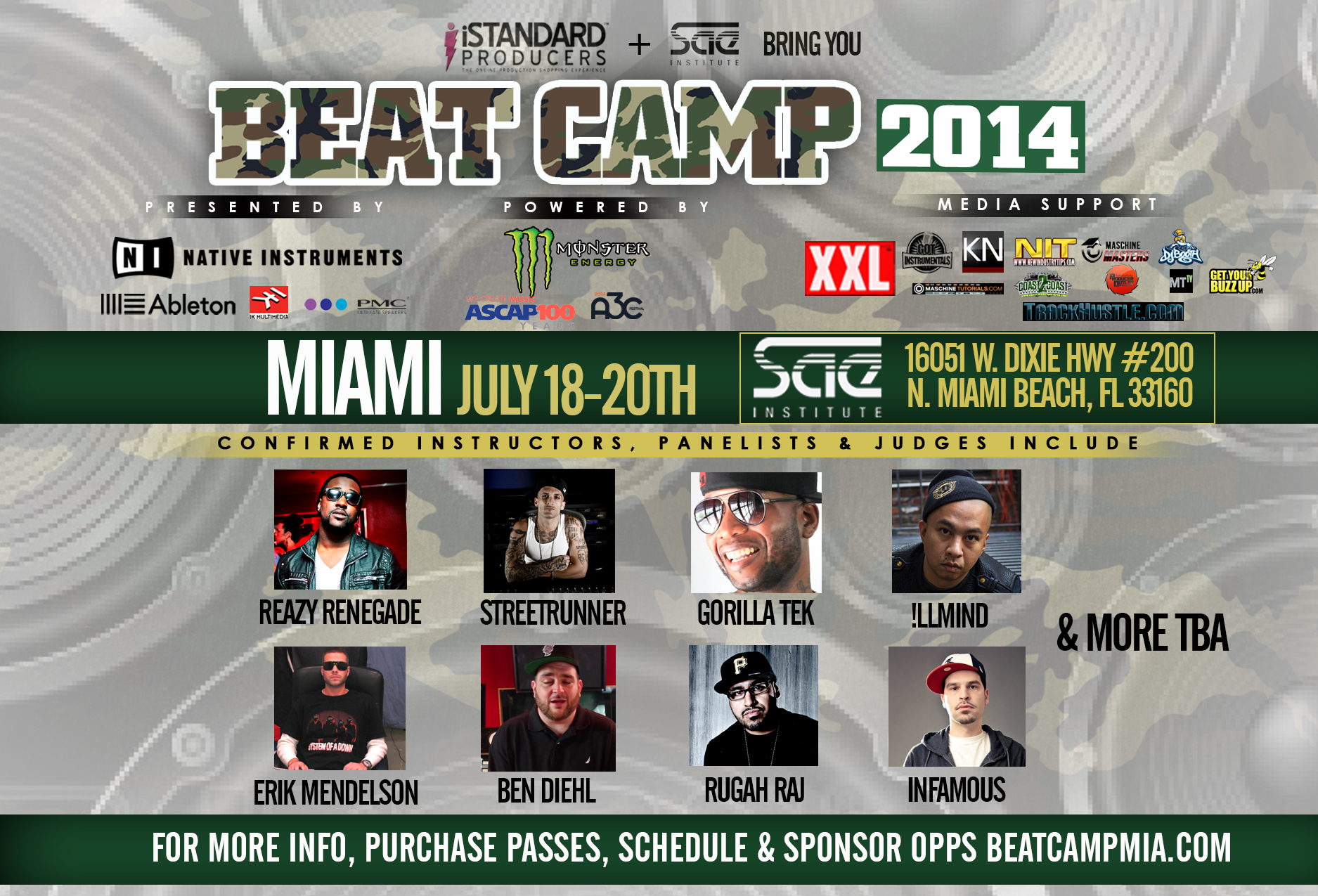 Event: Beat Camp Miami Powered by NIT