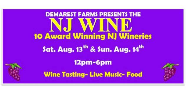 new jersey wine events - damerest farms