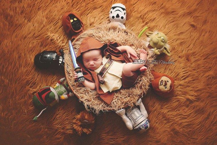 Baby-Kostüm-Luke-Skywalker
