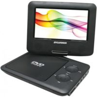"The Sylvania® SDVD7027 7"" Swivel-Screen Portable DVD Player"