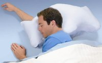 Brookstone Sona pillow has an anti-snore design