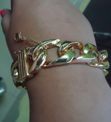 Fashion blogger, gold accessories, romwe, Indian fashion blog