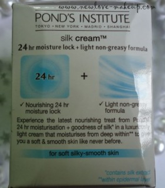 Pond's Silk Cream Review, Indian Makeup and Beauty Blog