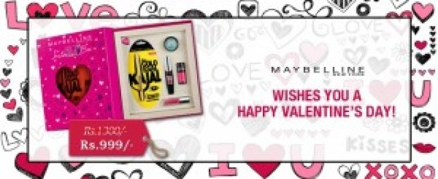 Maybelline Instaglam Valentine Edition Box, indian makeup blog