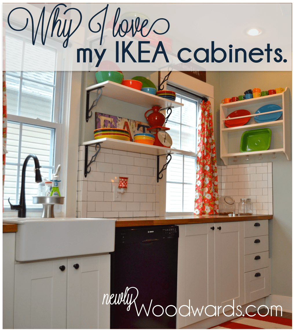 Ikea Küche Expedit Why I Love My Ikea Kitchen Cabinets Newlywoodwards