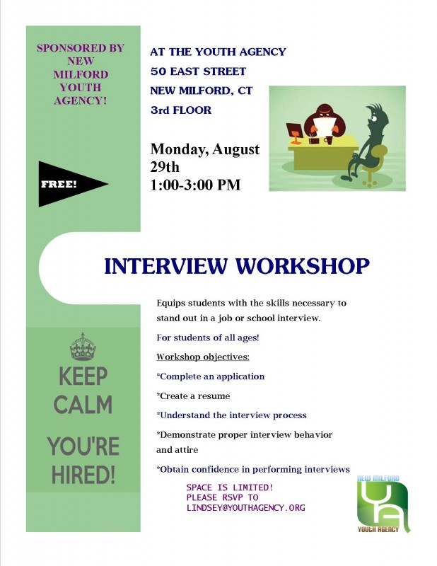 Interview Workshop - New Milford Events