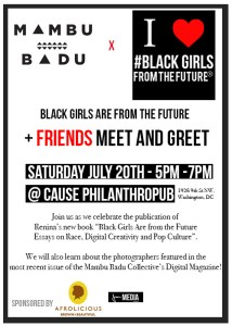 Black Girls Are from the Future _MB Flyer