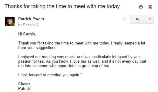 How to Write an Email to a Client after the Meeting - NEWOLDSTAMP