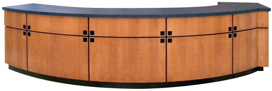 Custom Service Counter Newood Display Fixtures