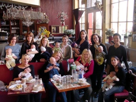 Tribeca Mamma/Mamma's Journey support group @ Yaffa's Tearoom 2005