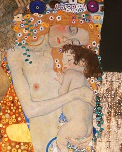 Gustave Klimt - Mother and Child 1905