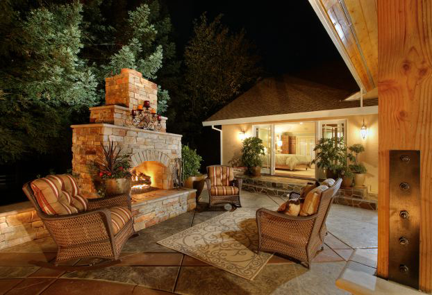 Outdoor Kitchens Living Spaces Newport Ave Landscaping
