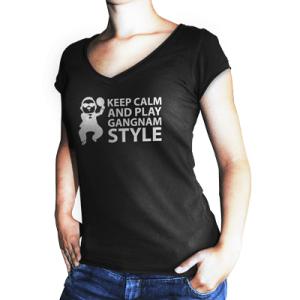 Play table tennis Gangnam Style!