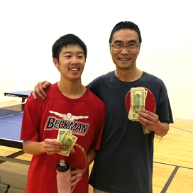 Table Tennis Equal Challenge Finalists