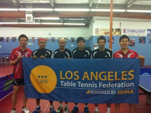 Newport Beach Table Tennis Players from first division