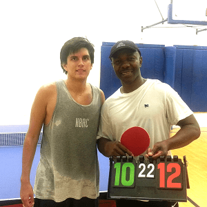 Rodrigo Tapia and Ken Okey in the Equal Challenge Final