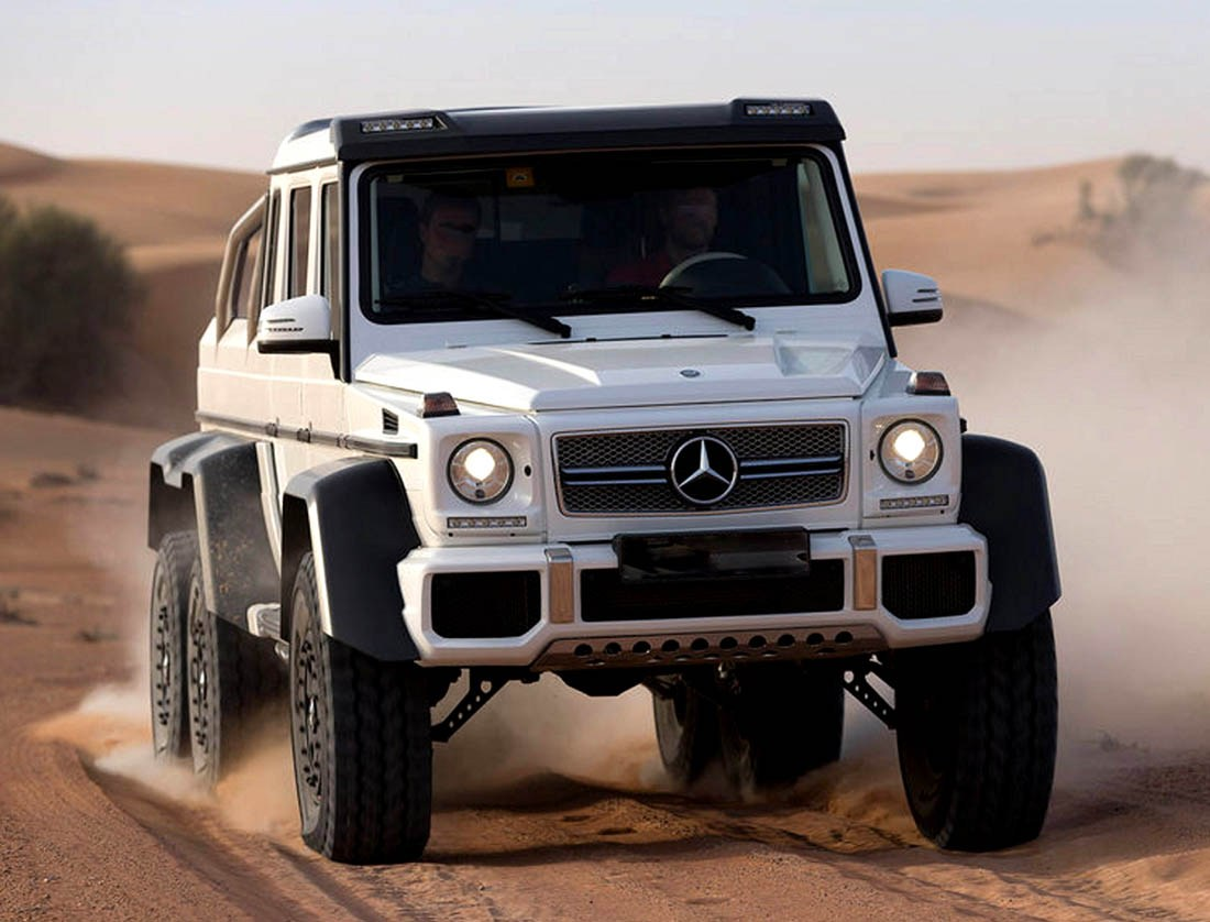 Mercedes G63 AMG 6X6 - Newport Convertible Engineering
