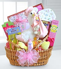 Colored Basket for Baby