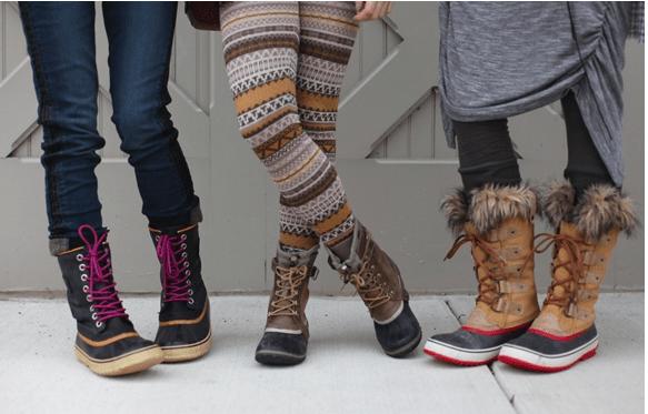 28 Elegant Women Wearing Winter Boots Sobatapkcom
