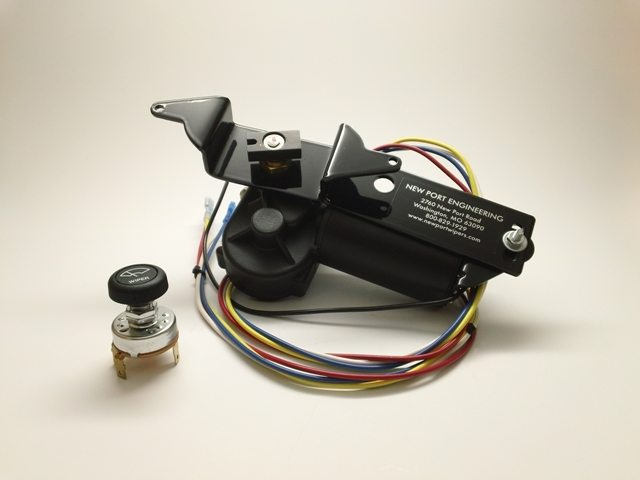 New Port Engineering 1955-56 Chevy Wiper Motor