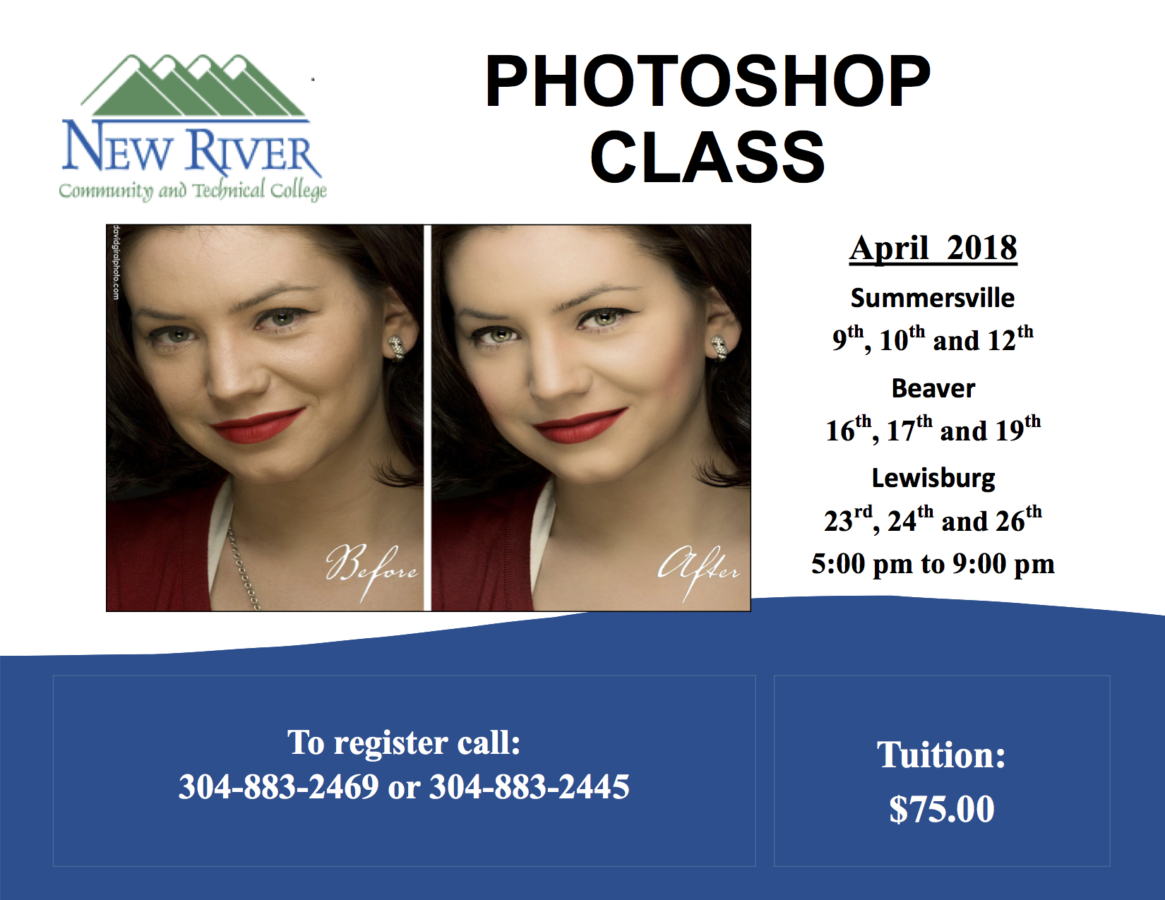 Photoshop Classes Photoshop Classes Offered At New River Ctc New River Community