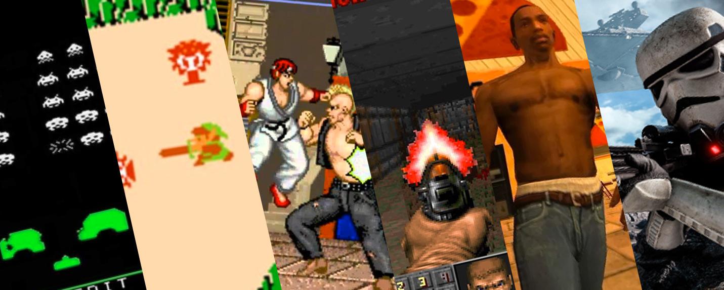 A evolução dos games e seus gráficos
