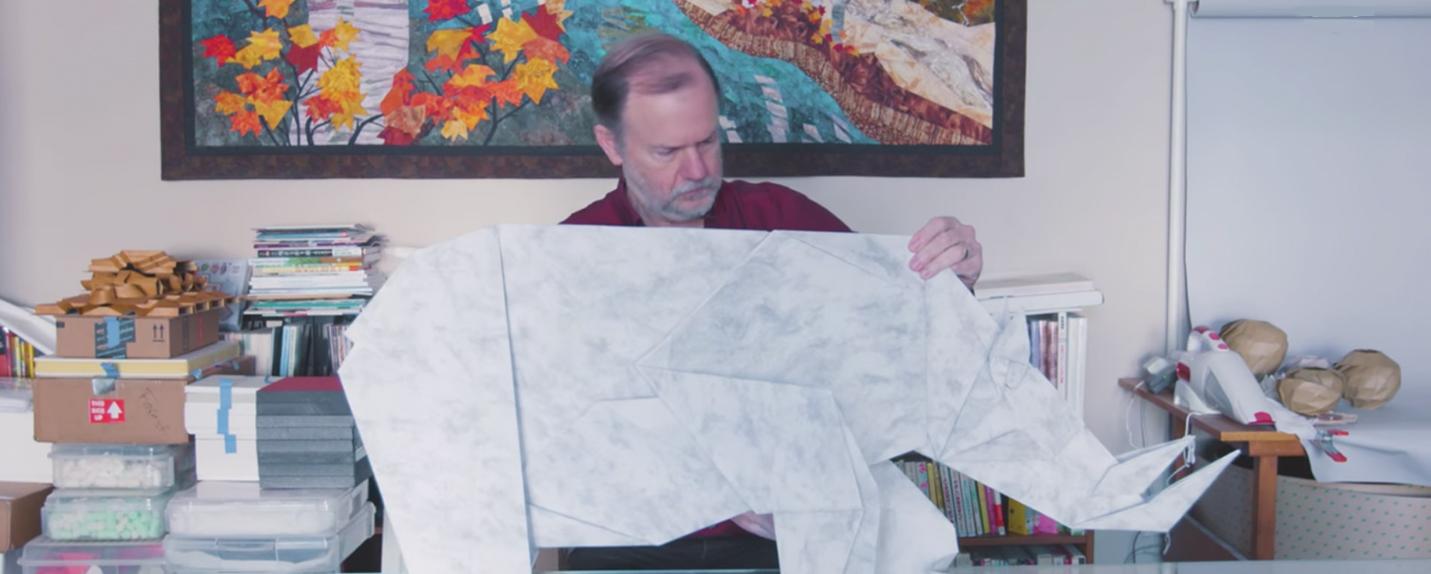 O mestre do origami – da NASA para a arte