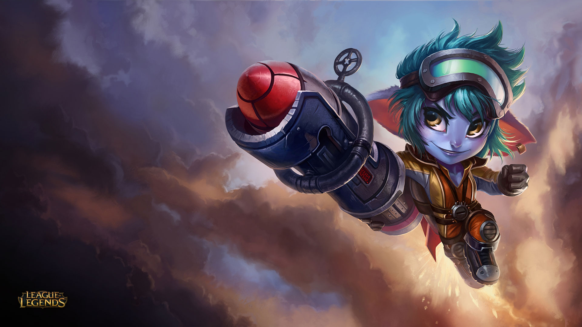 Dank Girl Wallpaper 1920 X 1080 Nidalee Tristana And Trundle Updated Skin
