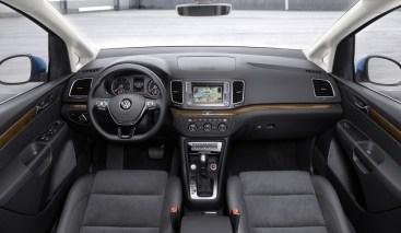 Console centrale du Volkswagen Sharan 2015