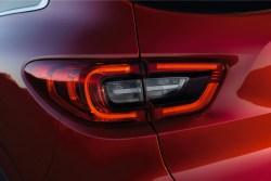 Feu arrière à LED du Renault Kadjar