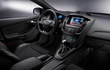 Intérieur de la nouvelle Ford Focus RS