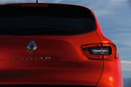 Vue arrière du Renault Kadjar