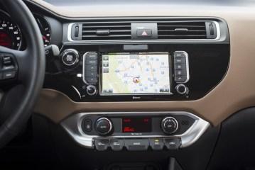 GPS tactile de la Kia Rio 2015