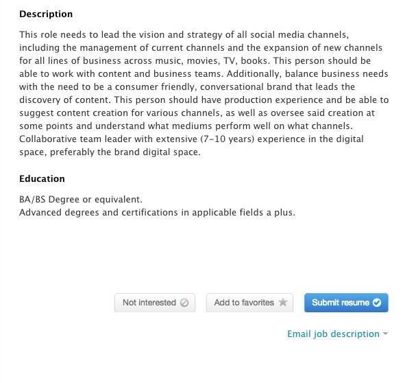 Social Media Job Description Social Media Officer Job Description - social media marketing job description
