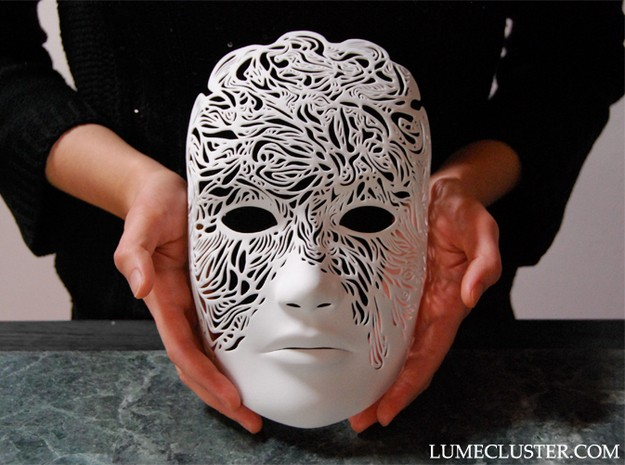 Designer\u0027s Eerie 3D Printed Masks Will Open Up an Alternate Universe
