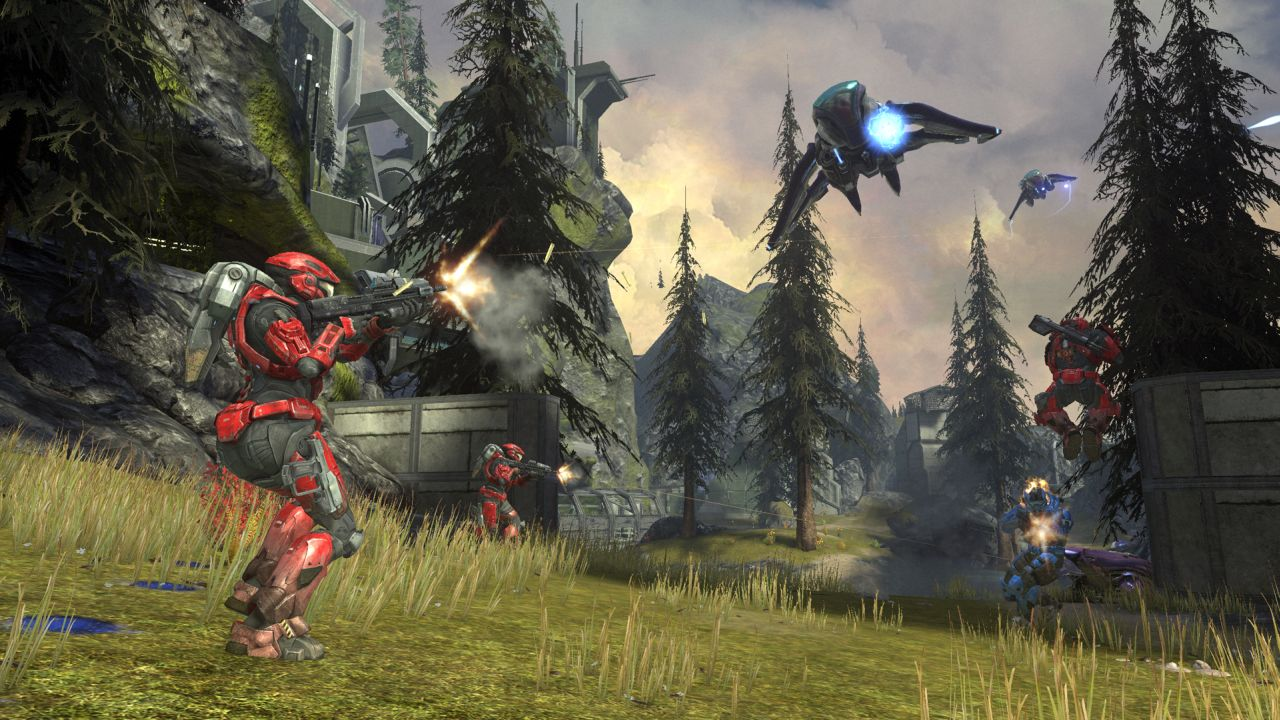 Halo Wallpaper Fall Of Reach Halo Reach Defiant Map Pack Get Release Date And Screenshots