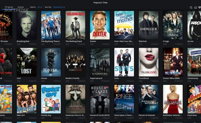 Popcorn Time 0 3 5 Is A Great App For Movies And Tv Shows