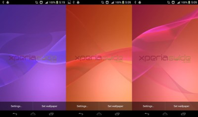 Sony Xperia Z2 Media Apps and Live Wallpapers Now Available Online
