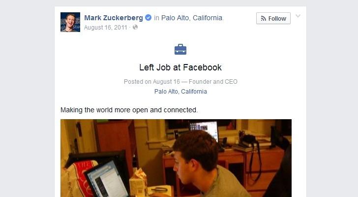 Facebook Bug You Can Make Everyone Quit Their Job, Even Mark Zuckerberg