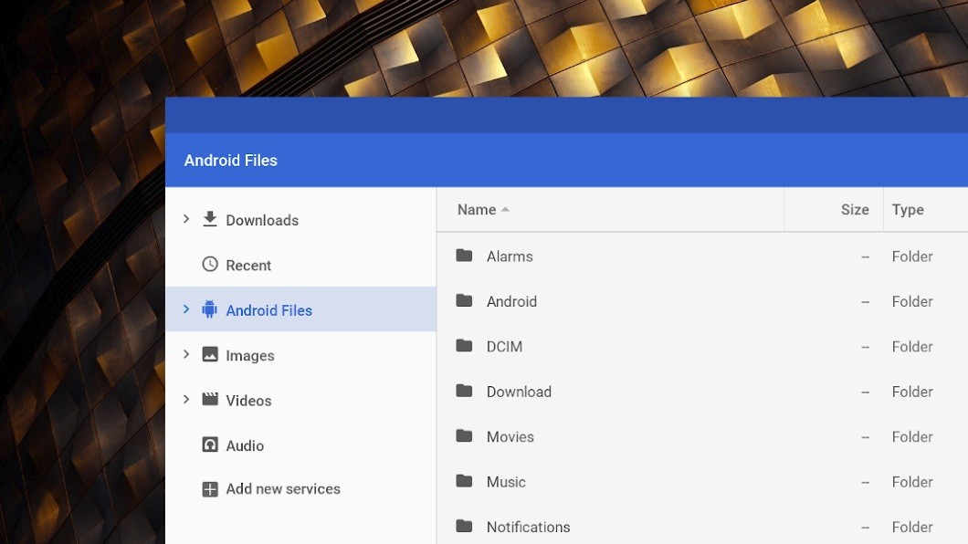 Google Could Let Chromebook Users Manage All of Their Android Files