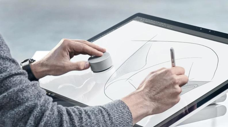 Microsoft Surface Pro 4 Finally Gets Surface Dial Support - microsoft surface support number