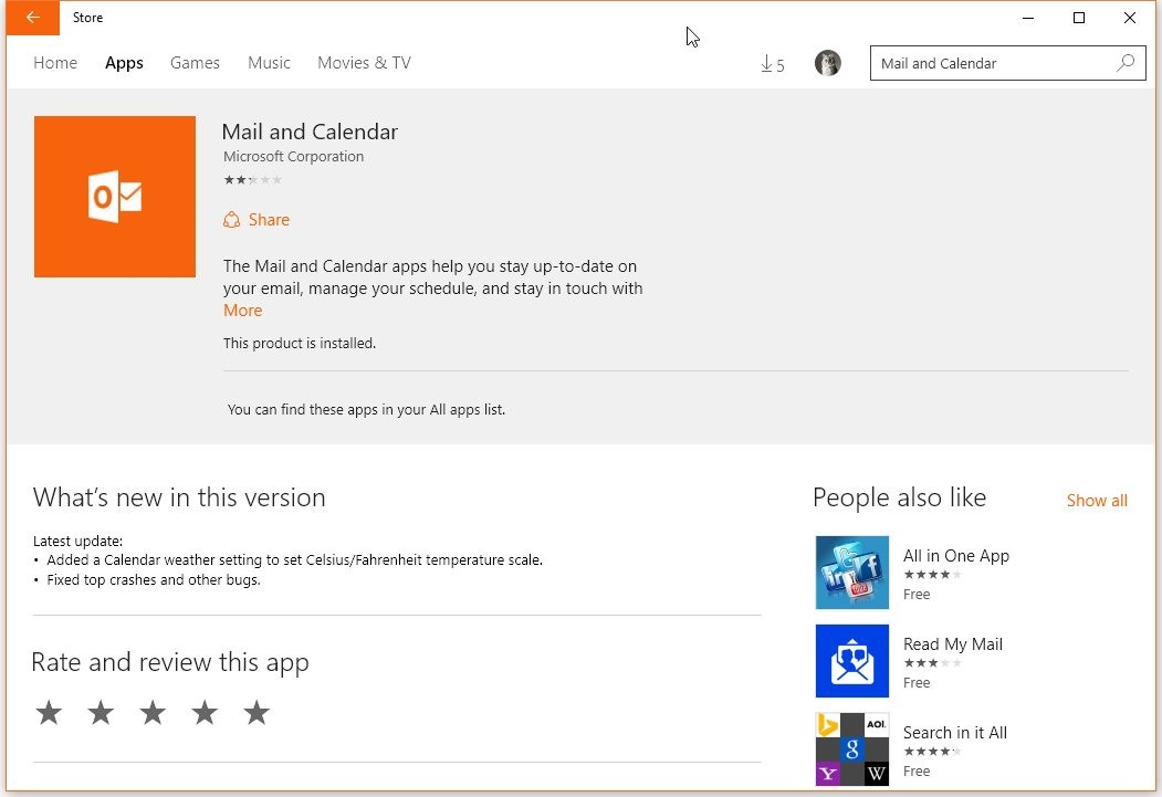 Microsoft Updates Windows 10 Mail Client Once Again