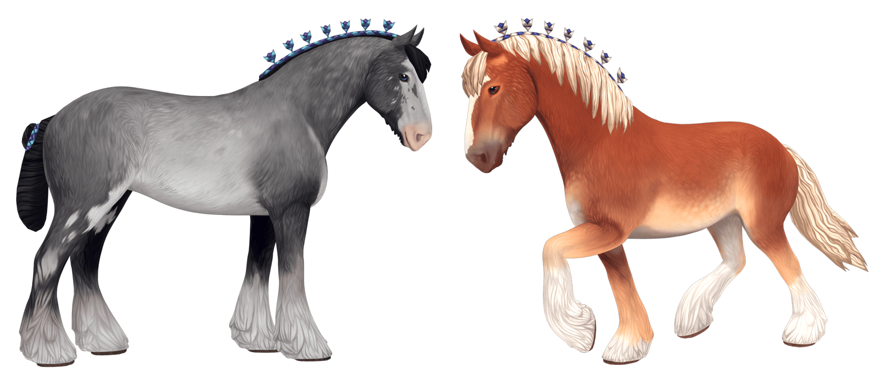 Horses In The Fall Wallpaper Download Free Fan Art Resources Star Stable