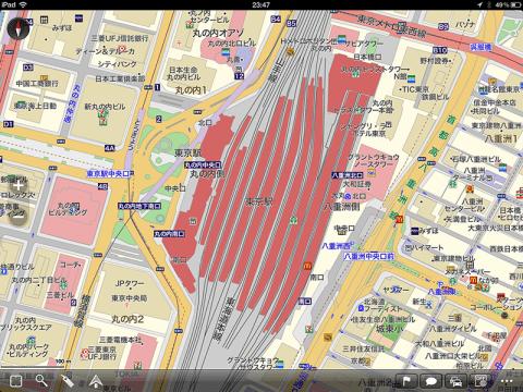 MapFan+ iPadにインストール