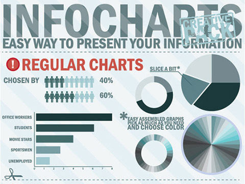 INFO GRAPHIC DESIGN ELEMENTS VECTOR